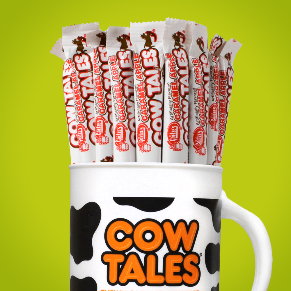 Caramel Apple Cow Tales Chewy Caramel Filled Apple Cream